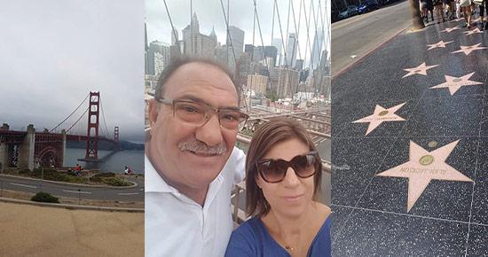 Νέα Υόρκη – Λας Βέγκας – Λος Άντζελες – Σαν Φρανσίσκο