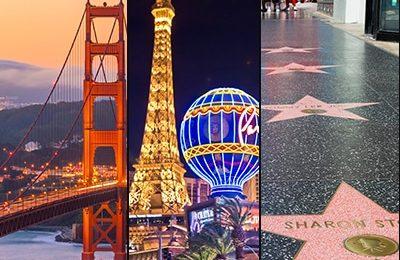 SAN FRA - LAS VE- LOS ANGE